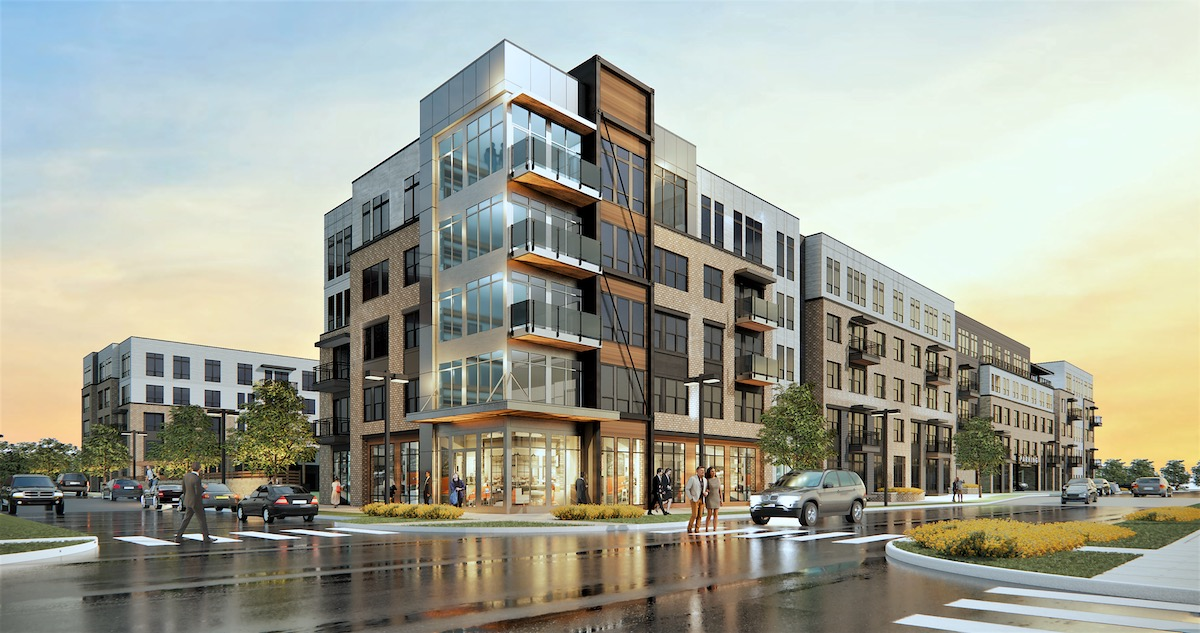 Rendering of Northlight at Edge-on-Hudson