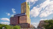 Updated rendering of Radio Tower & Hotel - MVRDV