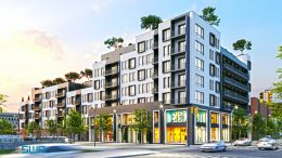 Rendering of 885 Rogers Plaza - S. Wieder Architect
