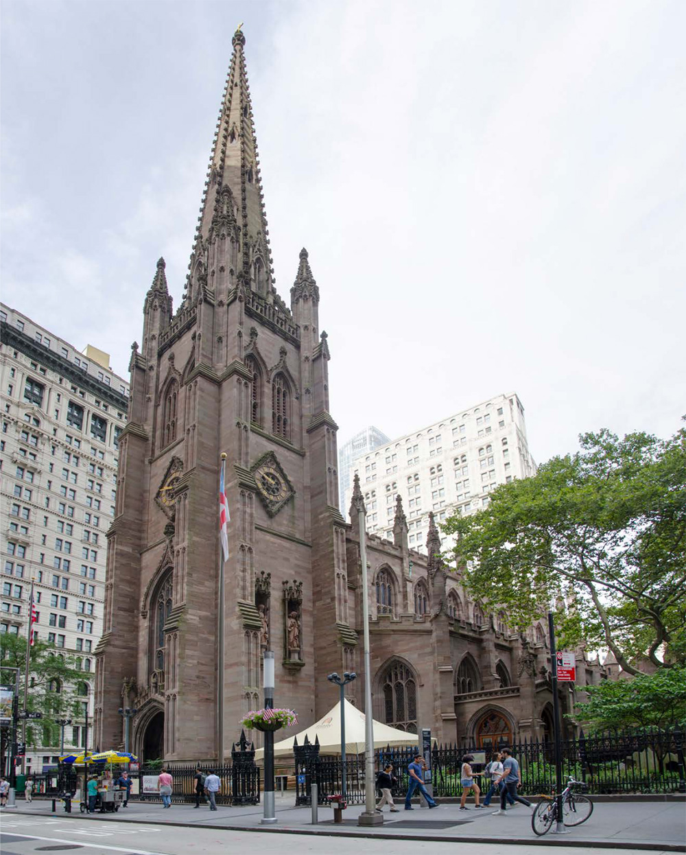Existing conditions at Trinity Church - Murphy Burnham & Buttrick Architects