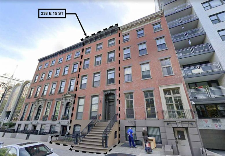 Existng conditions at 238 East 15th Street - Architects h2n
