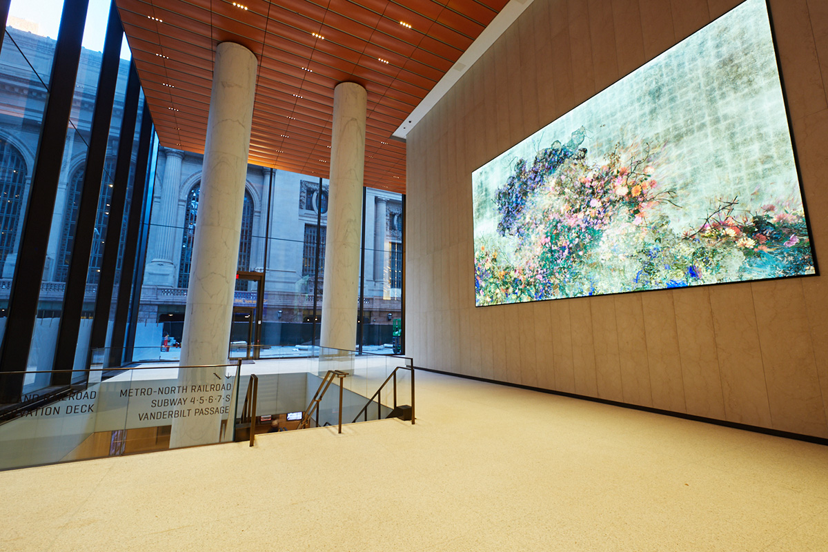 New transit hall within One Vanderbilt Avenue that opens up to 43rd street - Stantec