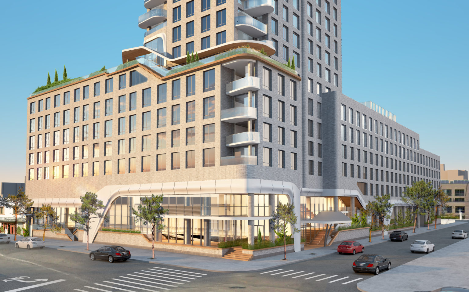 Rendering of 1515 Surf Avenue - LCOR
