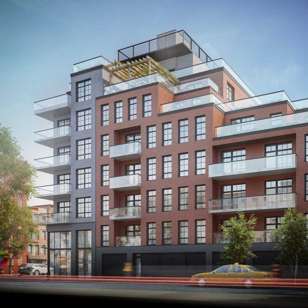 Rendering of 429 Tompkins Street - Issac & Stern Architects