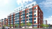 Rendering of Catholic Charities Loreto Apartments - RKTB Architects