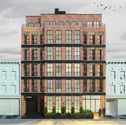 Exterior rendering of 552 Prospect Place - CAVU Property Group
