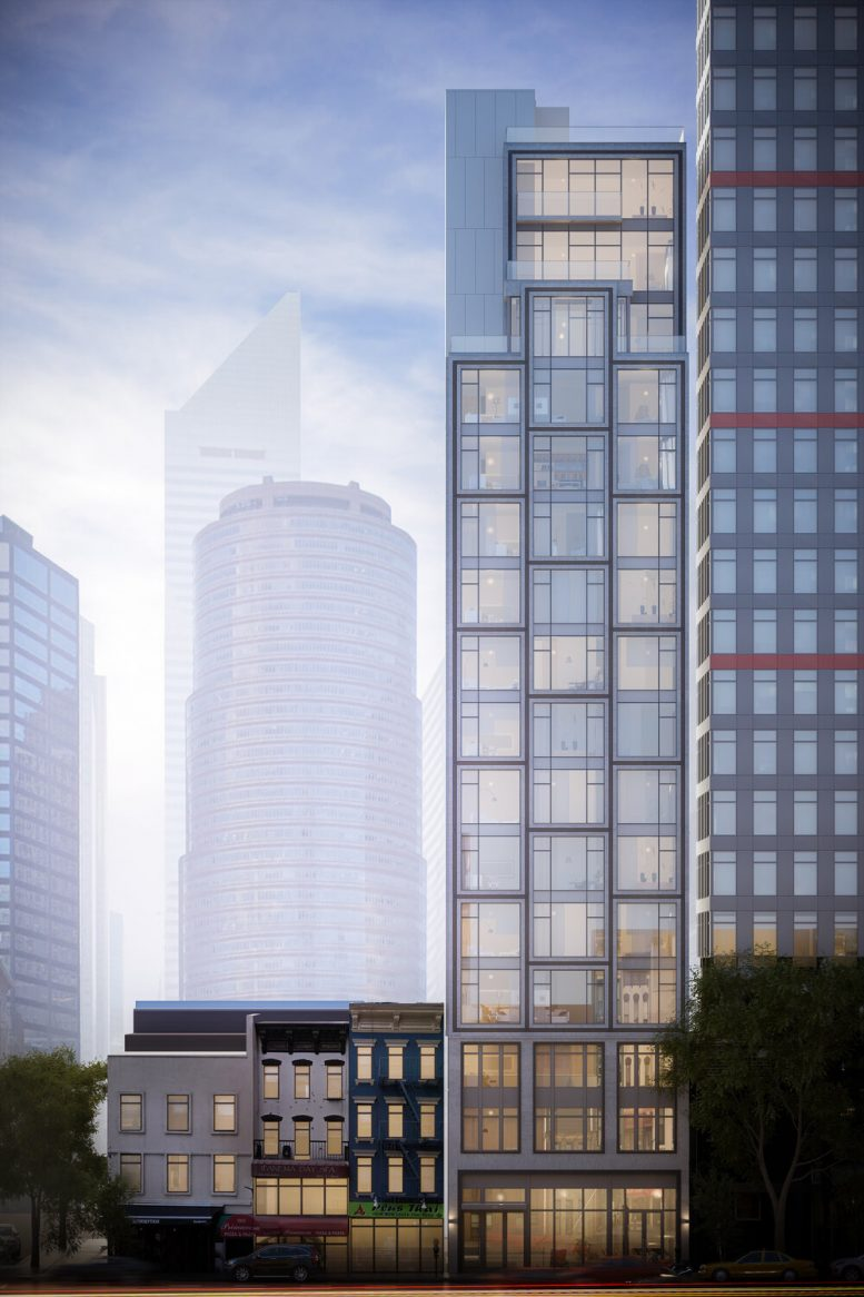 Rendering of 1009 Second Avenue - Issac & Stern Architects