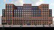 Rendering of 1010 Pacific Street - JFA / STUDIOSC Architecture