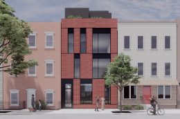 Rendering of 151 Freeman Street - Pliskin Architecture