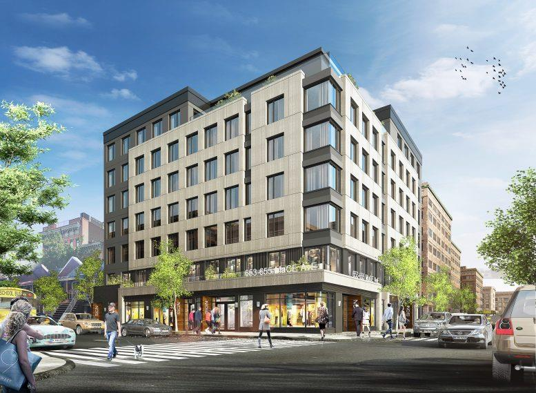 Rendering of 2500 Barker Avenue - J Frankl Associates