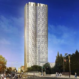 Rendering of 500 Summit Avenue - HAP Investments; CetraRuddy Architecture
