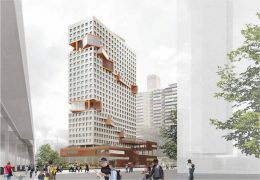 Rendering of 555 Broadway - ODA Architecture