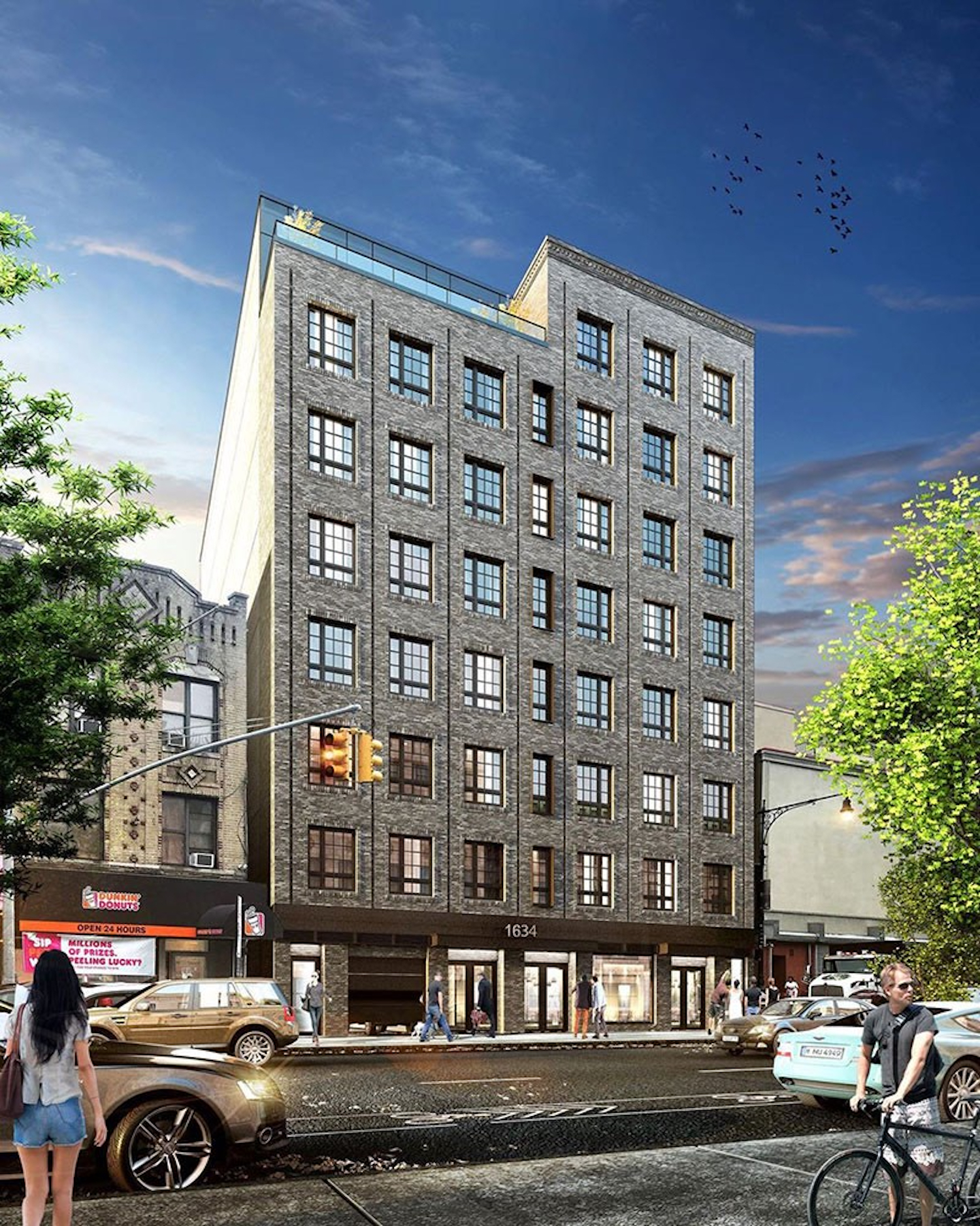 1634 Church Avenue in Flatbush, Brooklyn. All photos courtesy of NYC Housing Connect