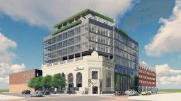 Rendering of The Albion, Jersey City - The Landmark Companies