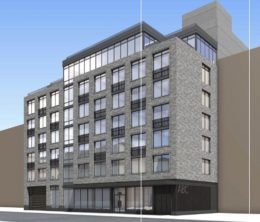Rendering of 160 Clarkson Avenue - Hill West Architects