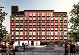 Rendering of 101 Bruckner Boulevard - S. Wieder Architect; Input Creative Studio