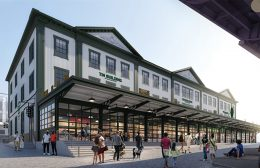 Rendering of 95 Marginal Street - Howard Hughes Corporation; Roman and Williams Buildings and Interiors