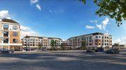Rendering of Yorktown Green - Oster Properties