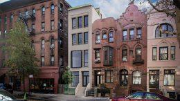 Revised rendering of 110 West 88th Street – DXA Studio