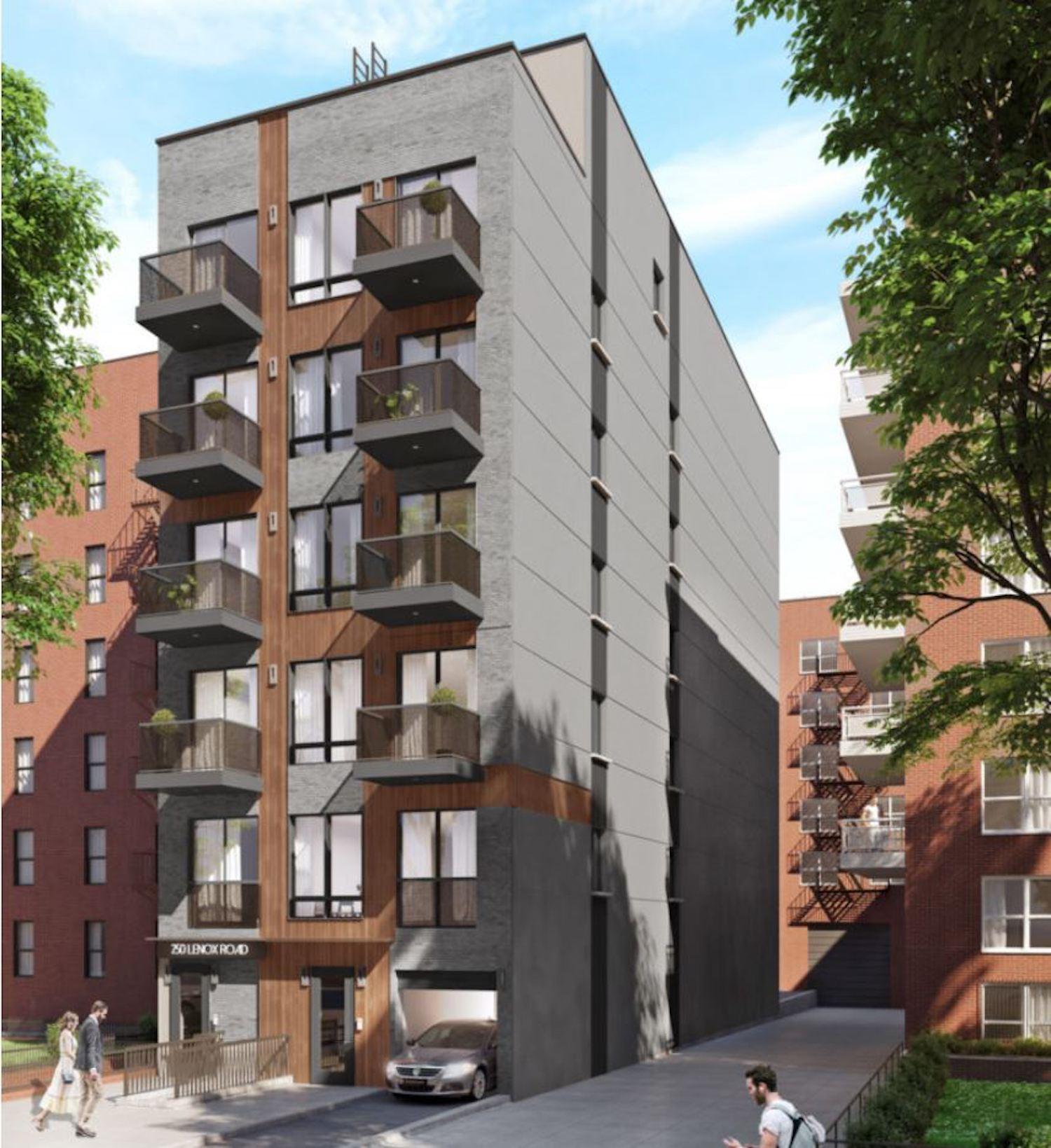 250 Lenox Road in East Flatbush, Brooklyn. All photos courtesy of NY Housing Connect
