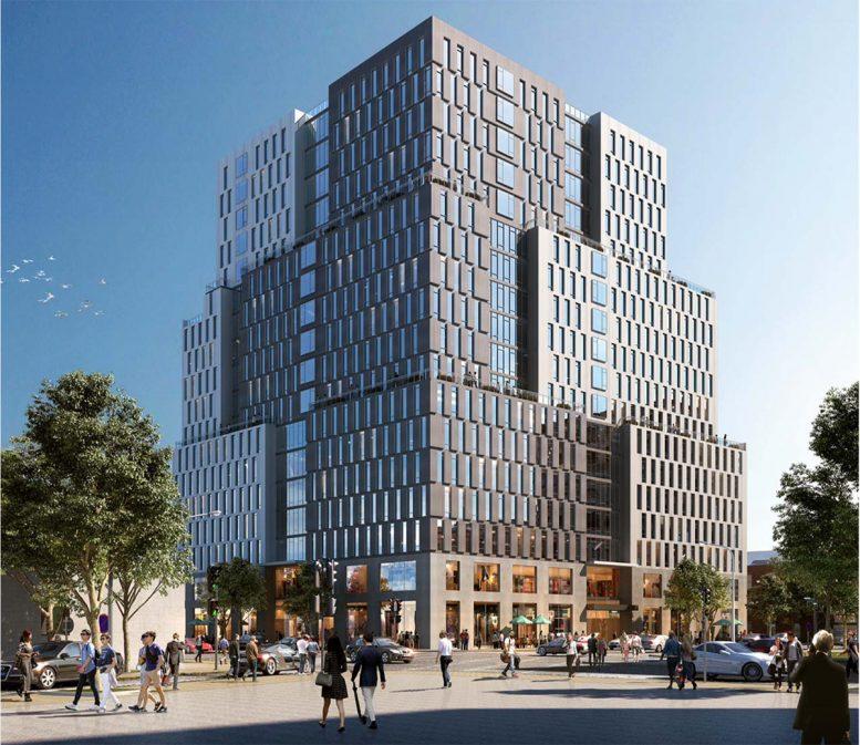 Rendering of 840 Atlantic Avenue - IMC Architecture; Vanderbilt Atlantic Holdings, LLC