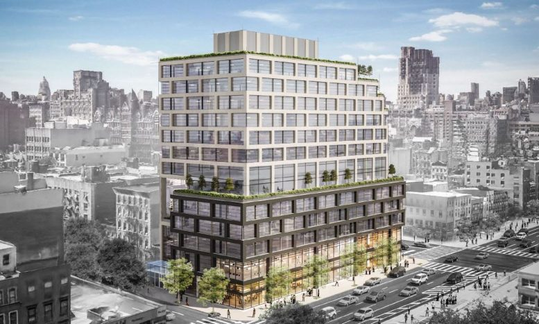 Rendering of 278 8th Avenue in Chelsea. Courtesy of JJ Operating.