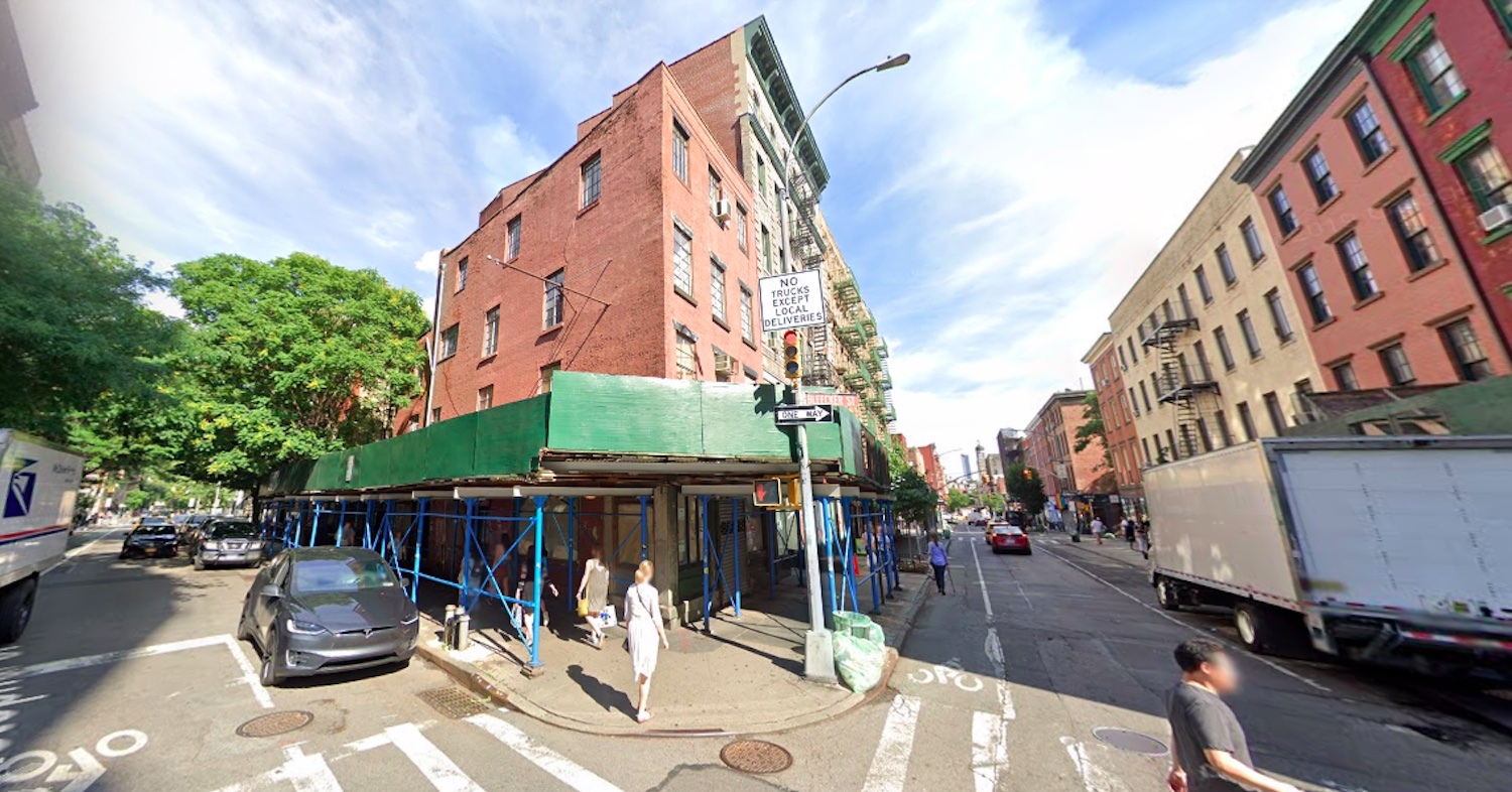 327 Bleecker Street in Greenwich Village via Google Maps