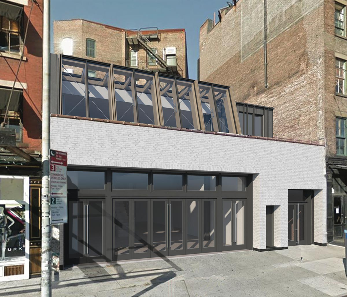 Primary rendering of 63-65 Gansevoort Street - BKSK Architects
