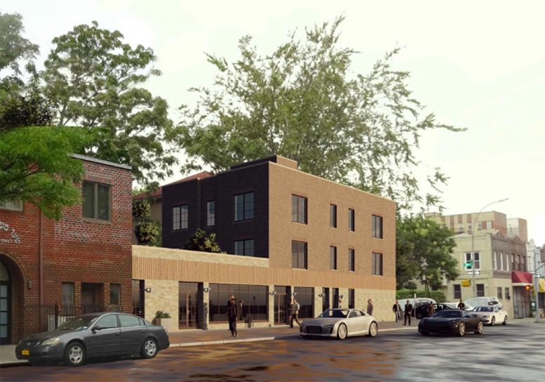 Rendering of proposed development at 1776 48th Street - RSLN Architecture