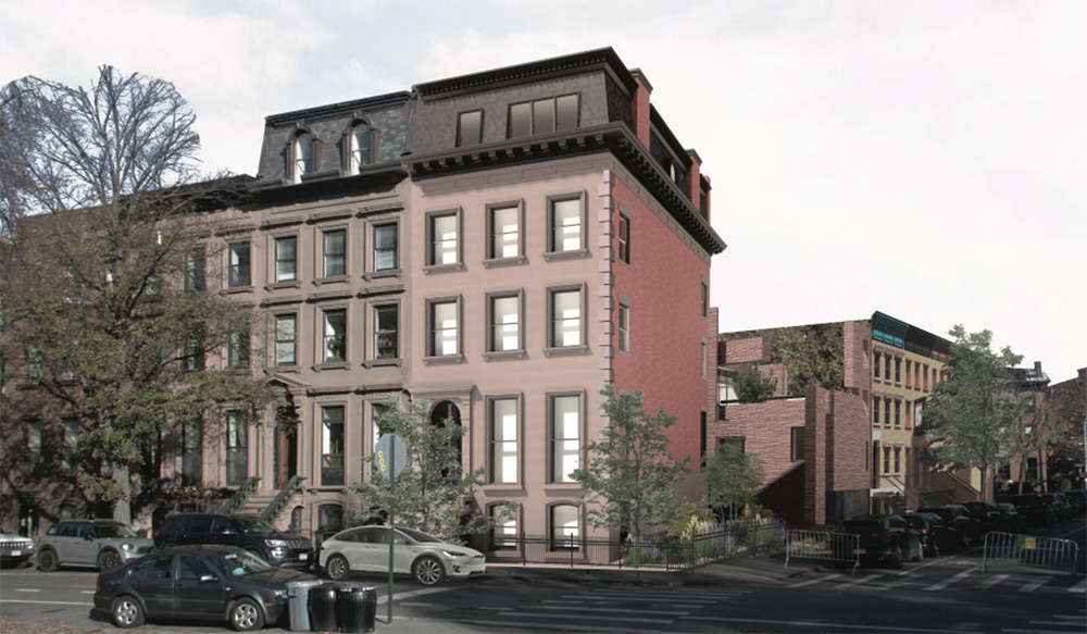 Updated rendering of 176 Washington Park - Kane AUD