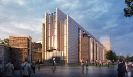 Renderings of renovations at Fordham University, courtesy of HLW International