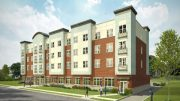 Rendering of East Orange Senior Residences - Photo courtesy of Genesis Companies
