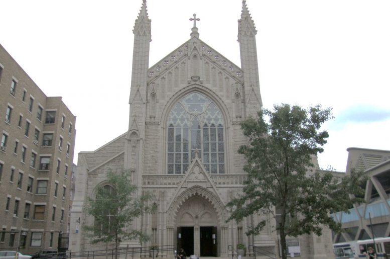 View of the Holyrood Episcopal Church-Iglesia Santa Cruz - Photo courtesy of he New York Landmarks Conservancy