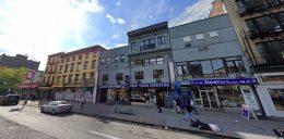 156-166 Bowery in Nolita, Manhattan via Google Maps