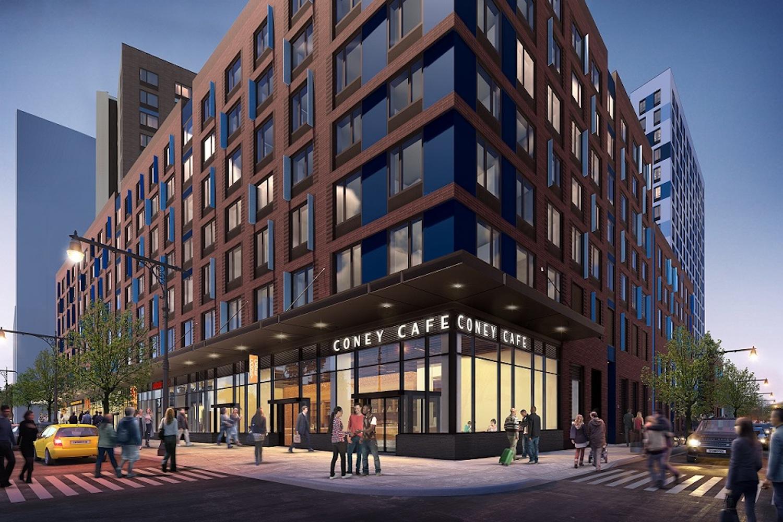 Coney Island Phase I courtesy of NYC Housing Connect