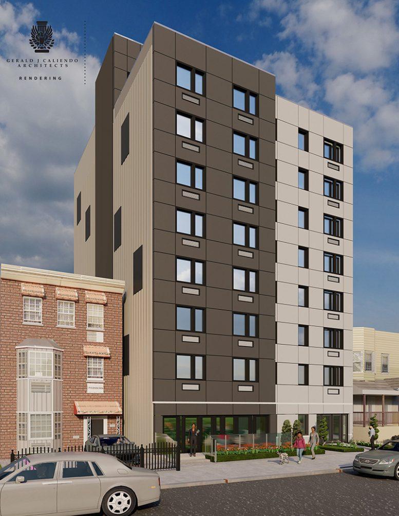 Rendering of 1281 Hoe Avenue - Gerald J. Caliendo Architects