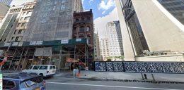 35 West 57th Street in Midtown, Manhattan via Google Maps