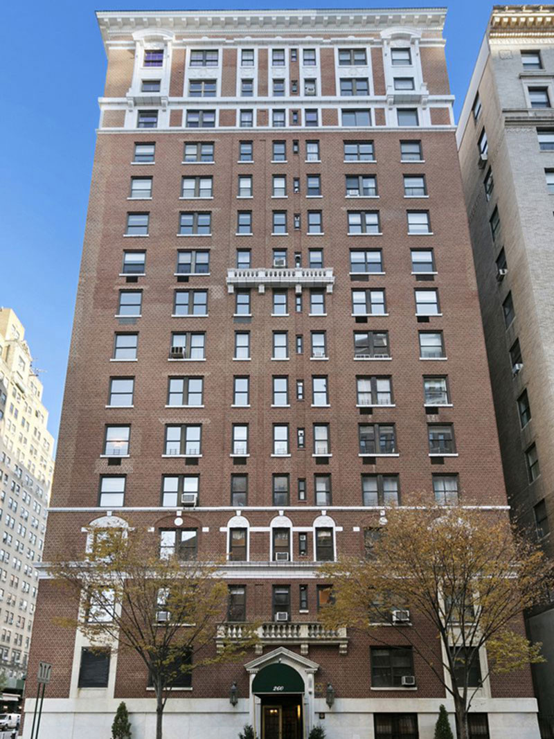 Existing view of 260 West End Avenue - Streeteasy