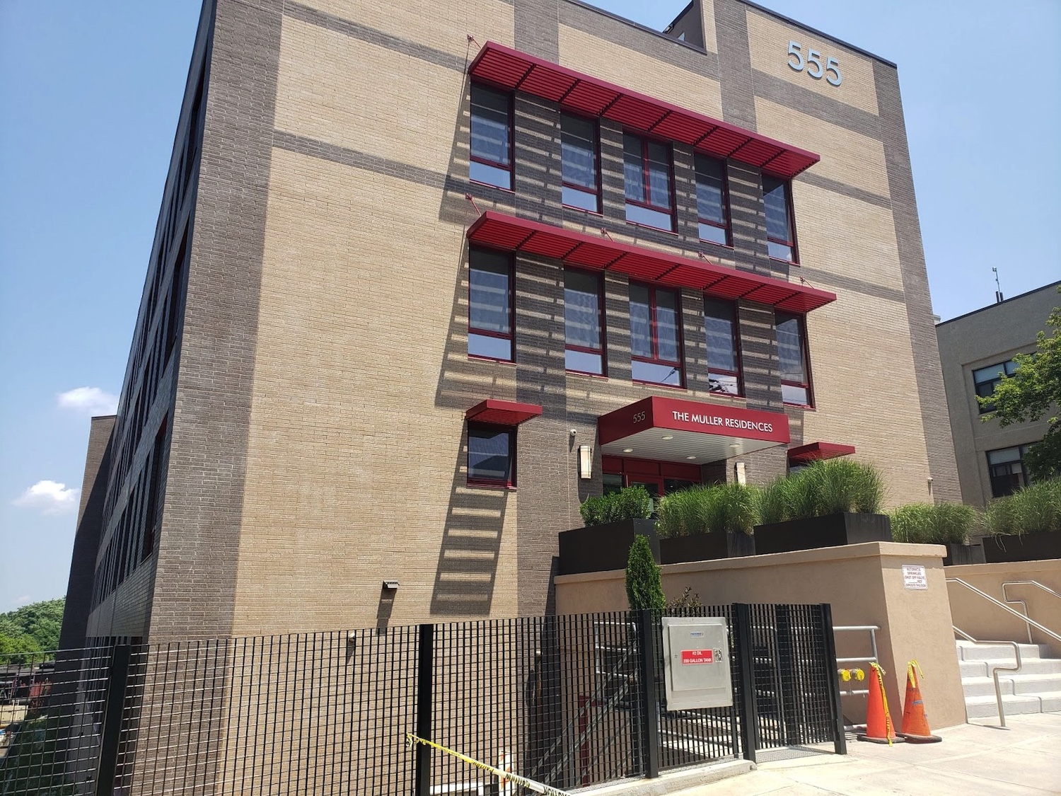 Muller Residences in Wakefield, The Bronx. Courtesy of The Doe Fund