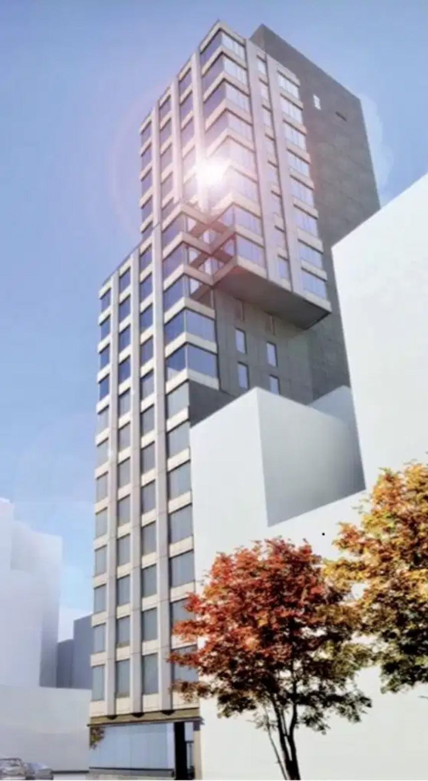 Rendering of 202 East 23rd Street - Hill West Architects