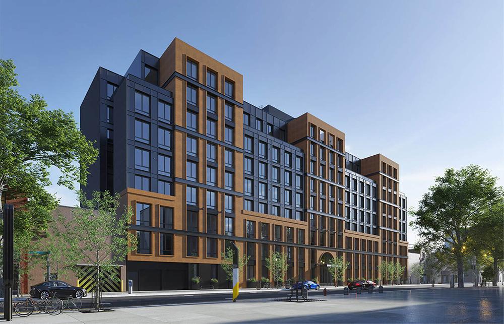Updated rendering of 1010 Pacific Street Exterior- StudiosC