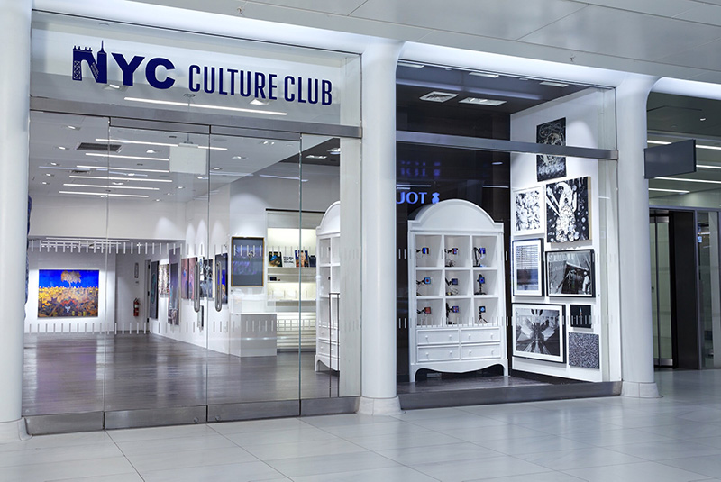 Front entrance at NYC Culture Club