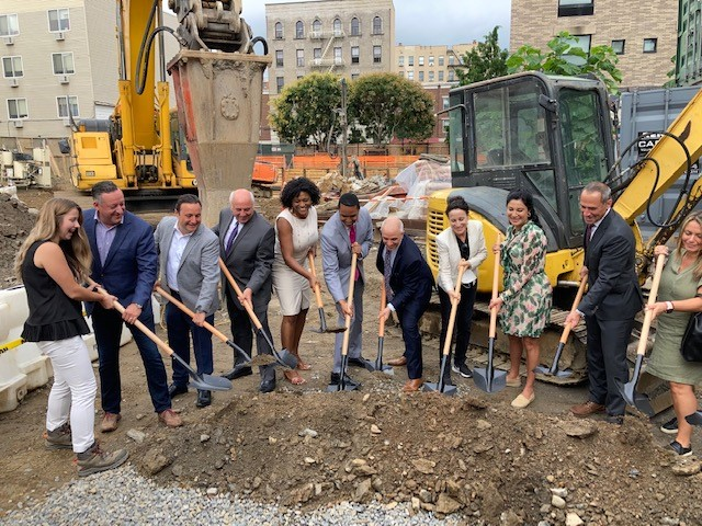 Groundbreaking ceremony at Garden Towers Apartments (1323 Boston Road) in The Bronx