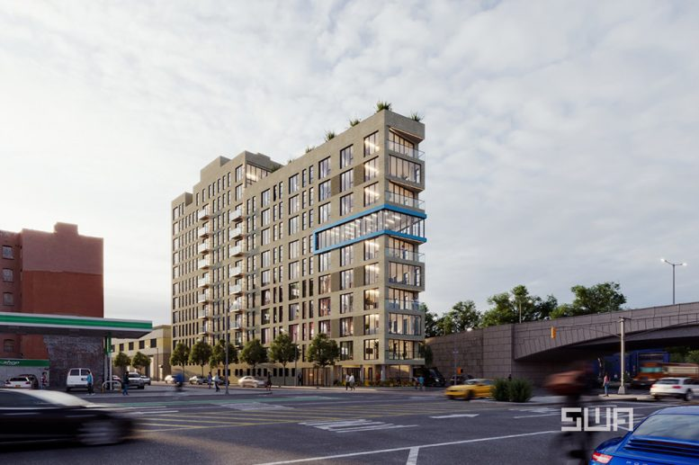 Rendering of 261 Grand Concourse - S. Wieder Architect