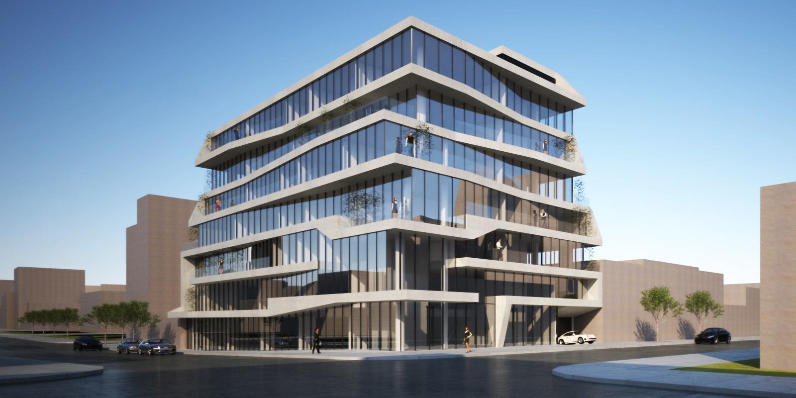 Rendering of 500 Kingston Avenue - INOA Architecture