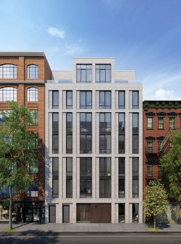 Rendering of 66 Clinton Street - C3D Architecture