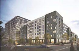 Updated rendering of 440 Hamilton Avenue - Rose Associates