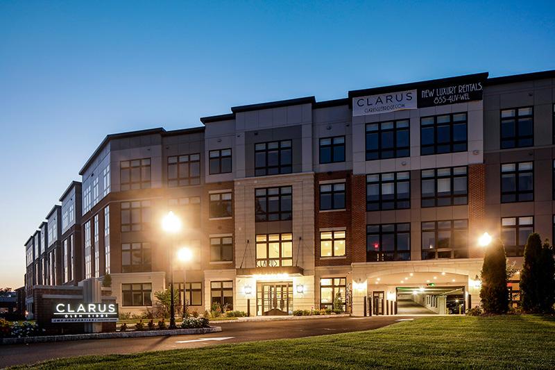 Evening view of Clarus Glen Ridge - JMF Properties